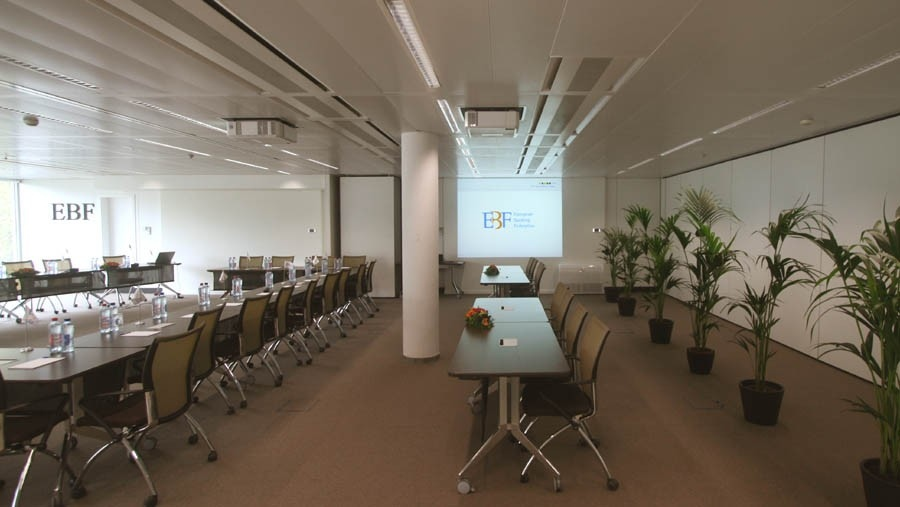 Large Conference Room with partition